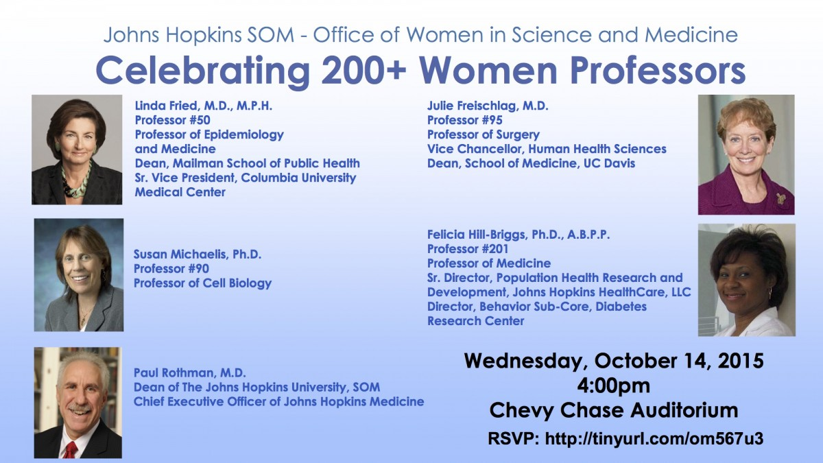 Women Professor Event