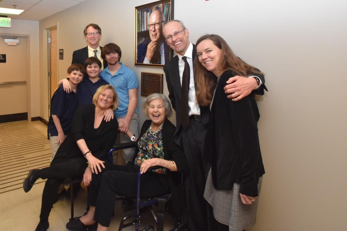 PSL Portrait Unveiling Lietman Family