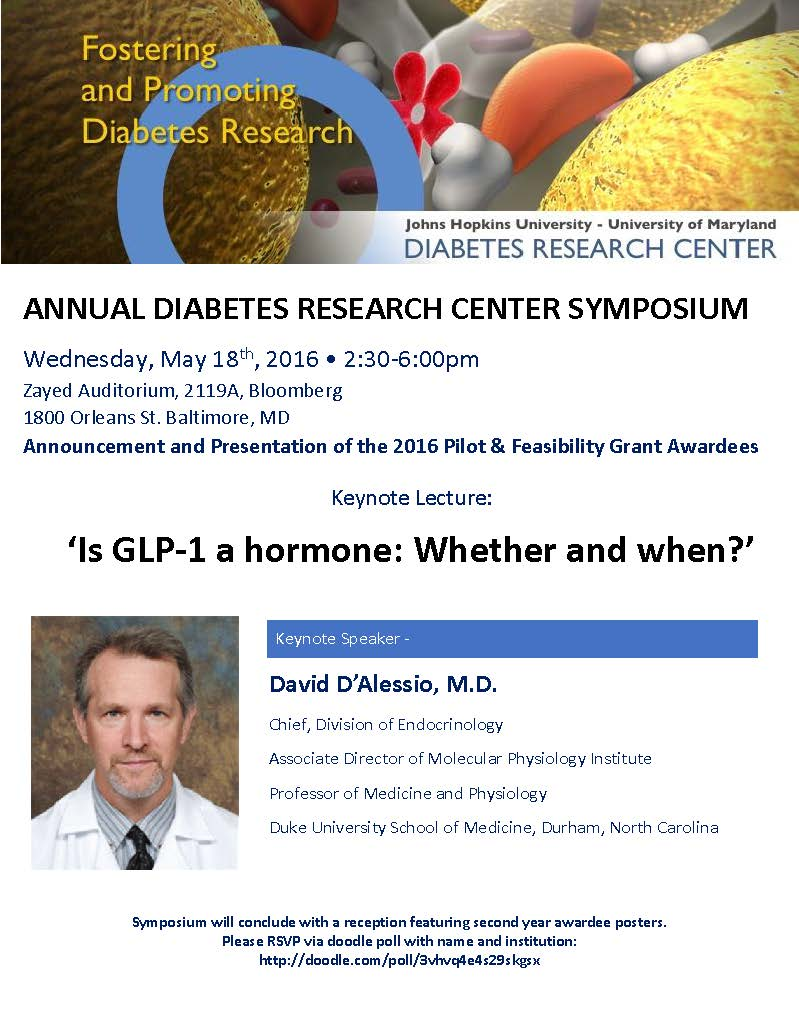 Annual Diabetes Research Center Symposium