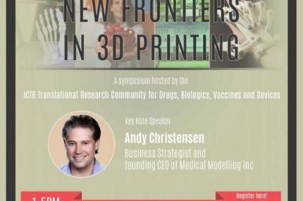 3D Printing Symposium Final Flyer