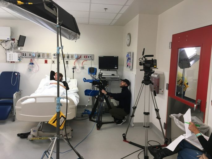 CDC filming