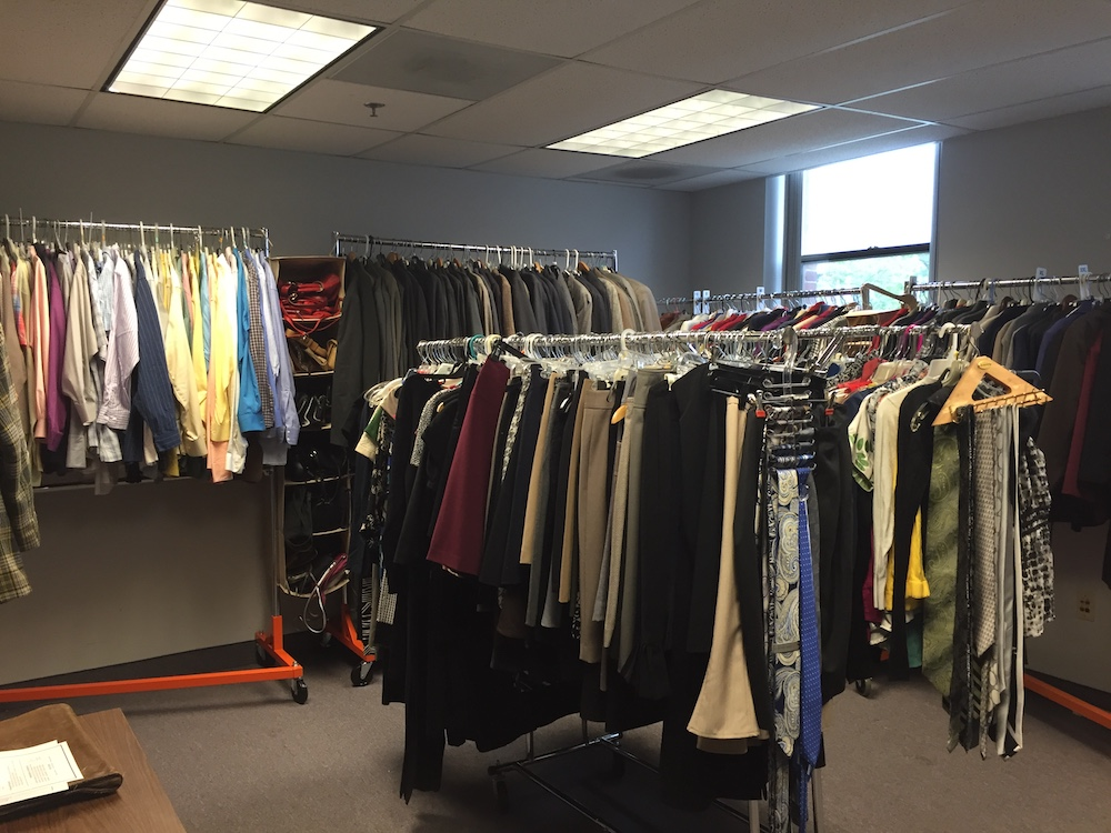 Clothing closet 5.16