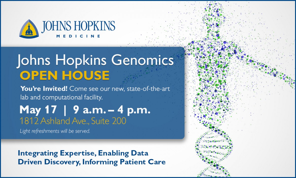 Genomics Open House_Flyer