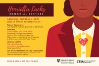 Henrietta Lacks Memorial Lecture