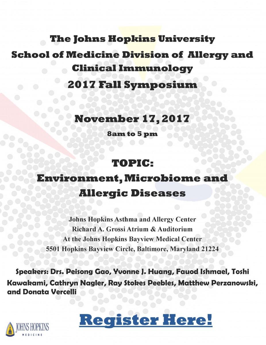 2017 Fall Symposium