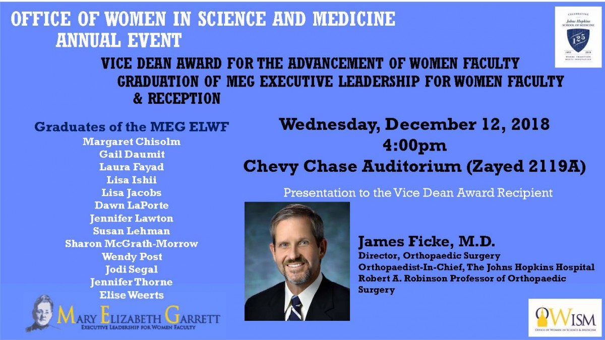 Office of Women in Science and Medicine Annual Event