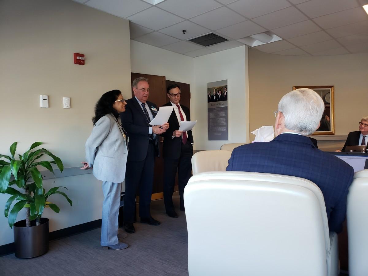 Chandra-Strobos, McCarthy award JHBMC BOT