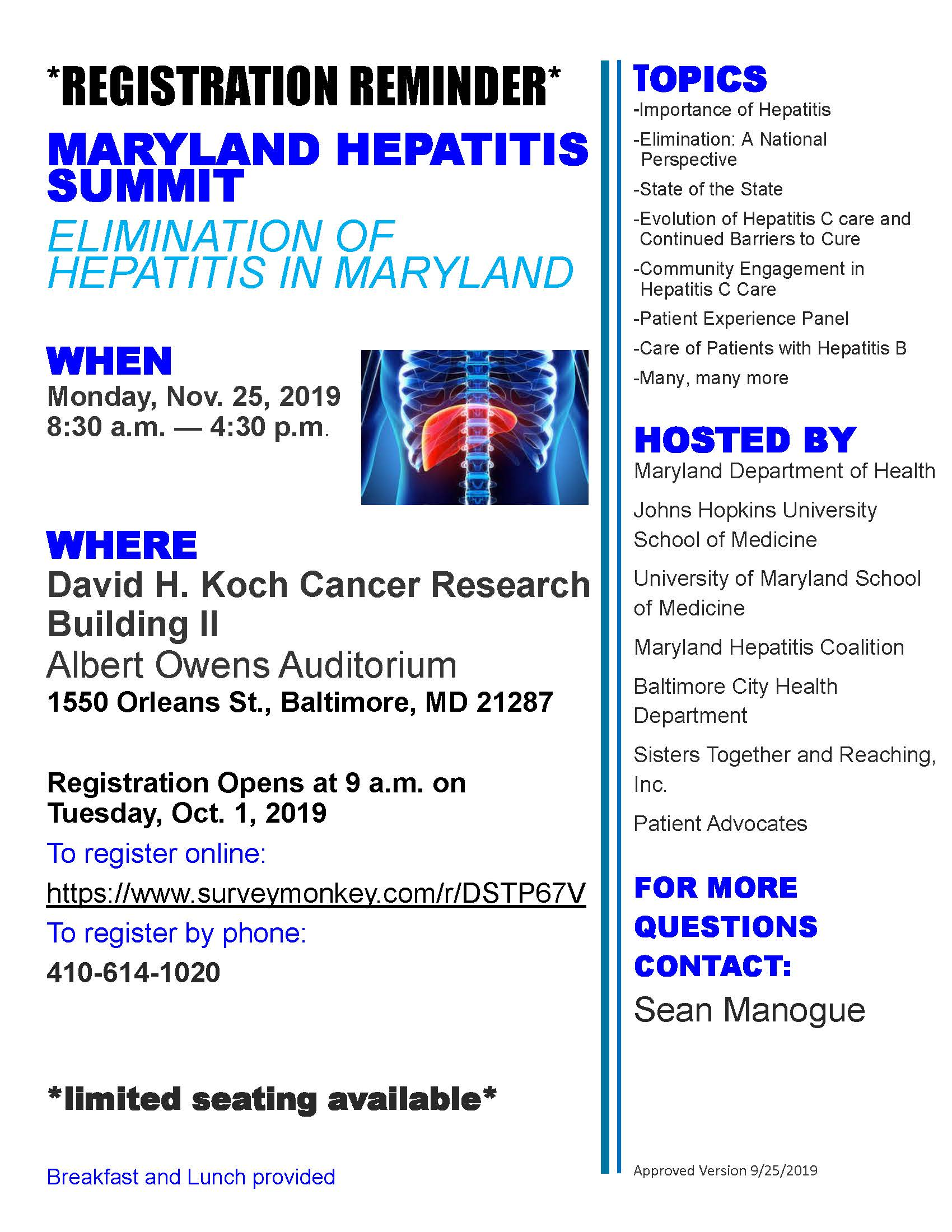 Hepatitis summit flyer updated-direct registration